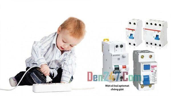 An toàn khi bé sử dụng điện