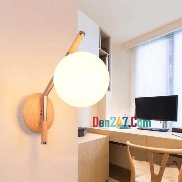 Đèn tường gỗ ĐGV 2187