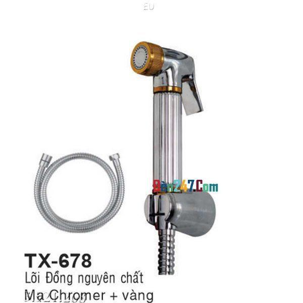 Tay Xịt Vệ Sinh Lõi Đồng Euroto TX-678