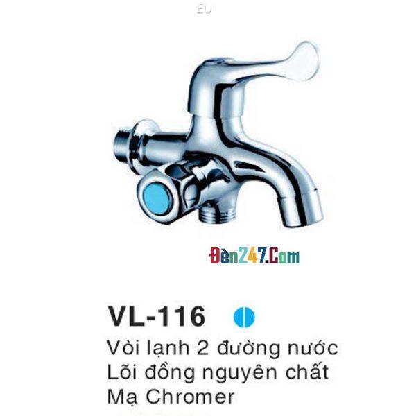 Vòi Sen Tắm Lạnh Euroto VL-116