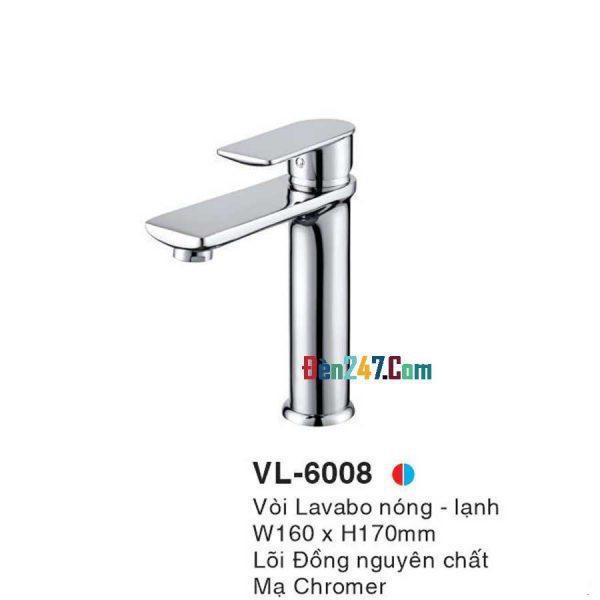 Vòi Lavabo Nóng Lạnh Euroto VL-6008