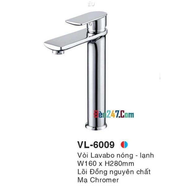 Vòi Lavabo Nóng Lạnh Euroto VL-6009