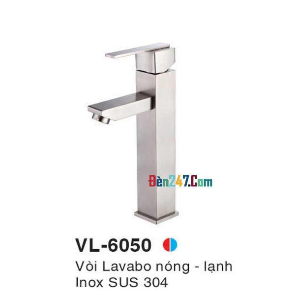 Vòi Lavabo Inox Nóng Lạnh VL-6050