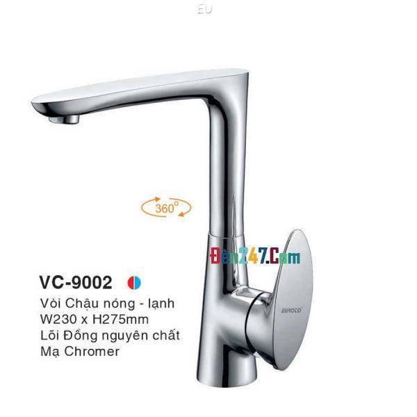Vòi Chậu Nóng Lạnh Euroto VL-9002