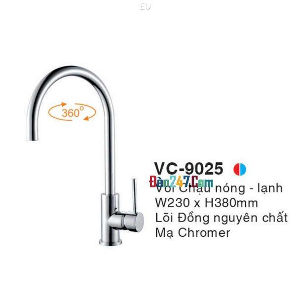 Vòi Chậu Nóng Lạnh Euroto VL-9025