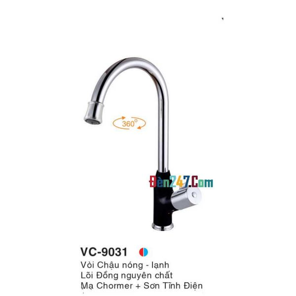Vòi Chậu Nóng Lạnh Euroto VL-9031