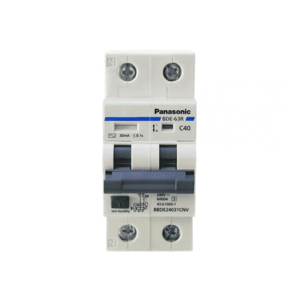 Cầu dao tự động RCBO Panasonic 6A BBDE20631CNV