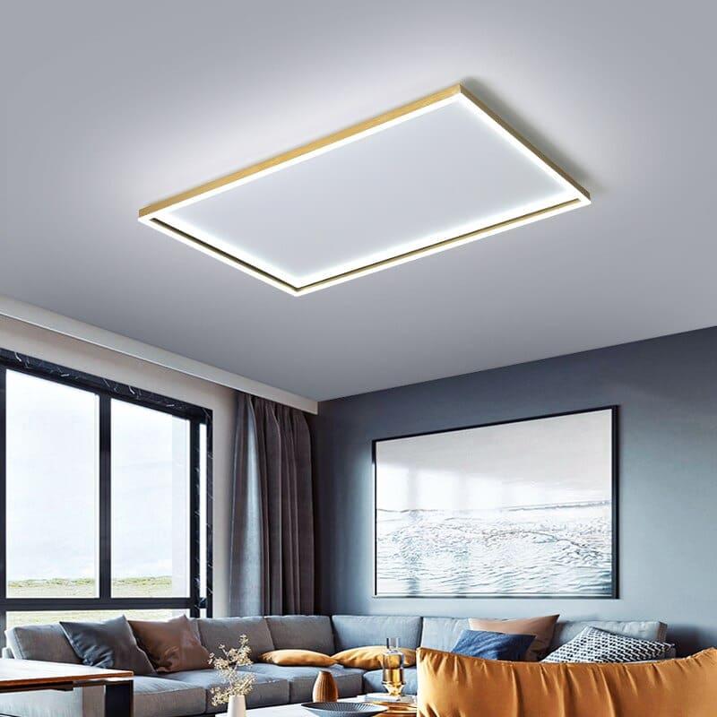 Đèn trang trí trần thạch cao phòng khách