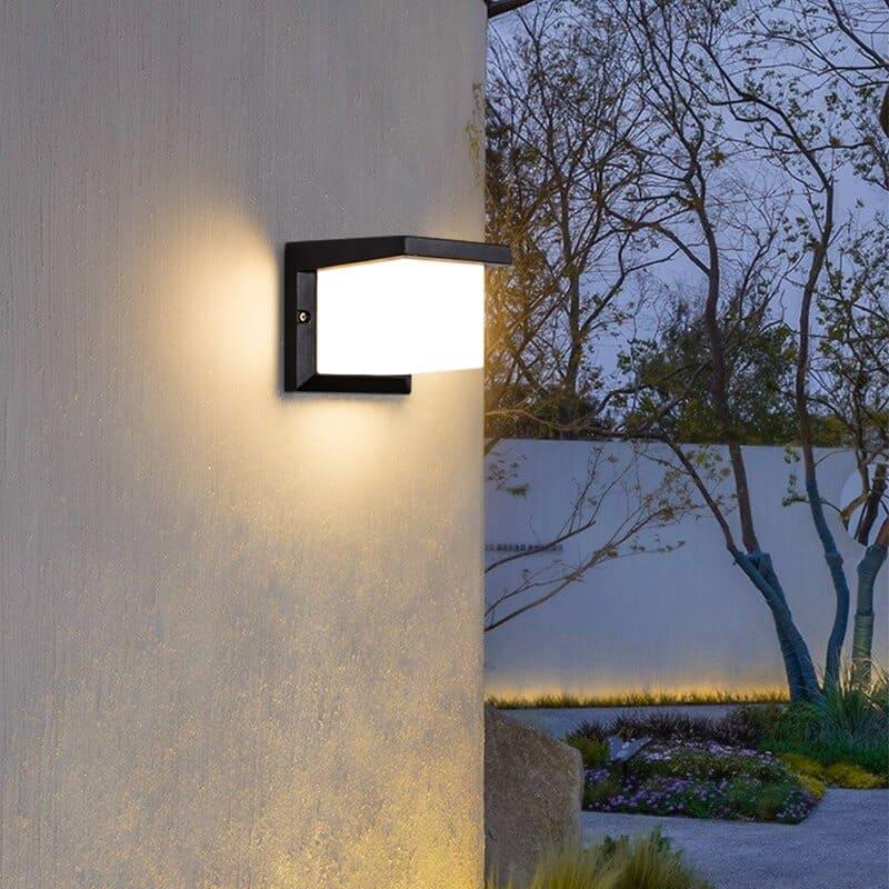 đèn treo tường ngoài trời sân vườn