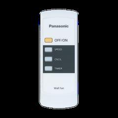 Quạt treo tường Panasonic F-409MB có remote màu xanh